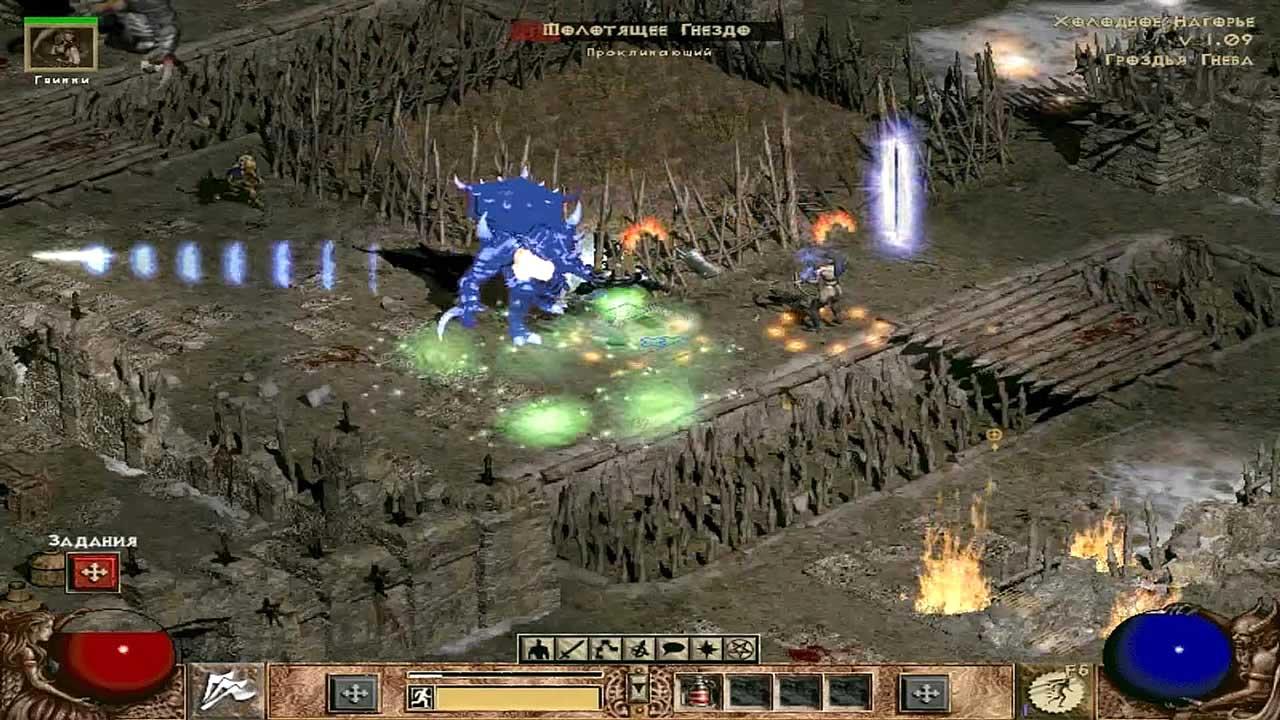 Diablo 2 гроздья гнева ч. 1 youtube.