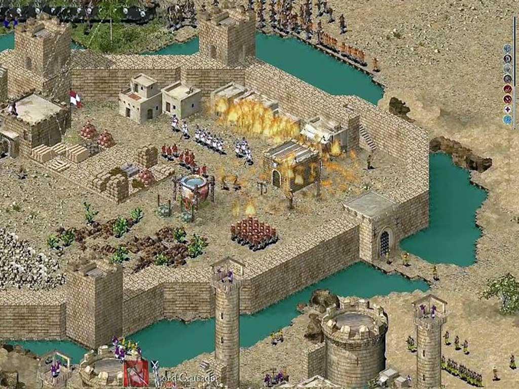 Stronghold crusader (2003) скачать через торрент на pc бесплатно.
