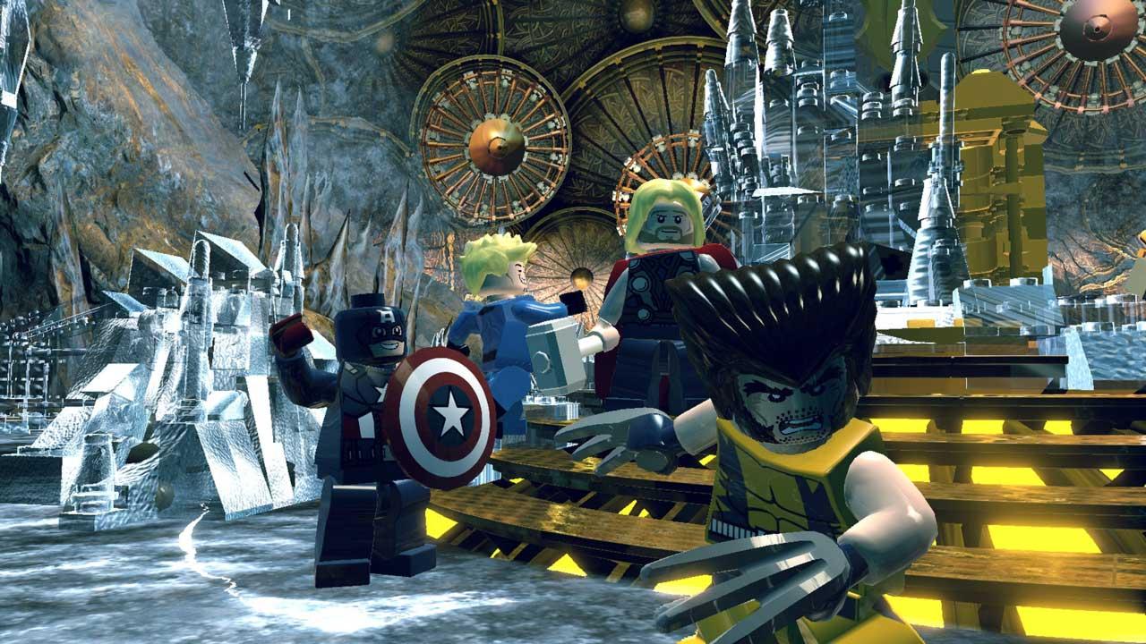 Лего супергерои игра скачать торрент