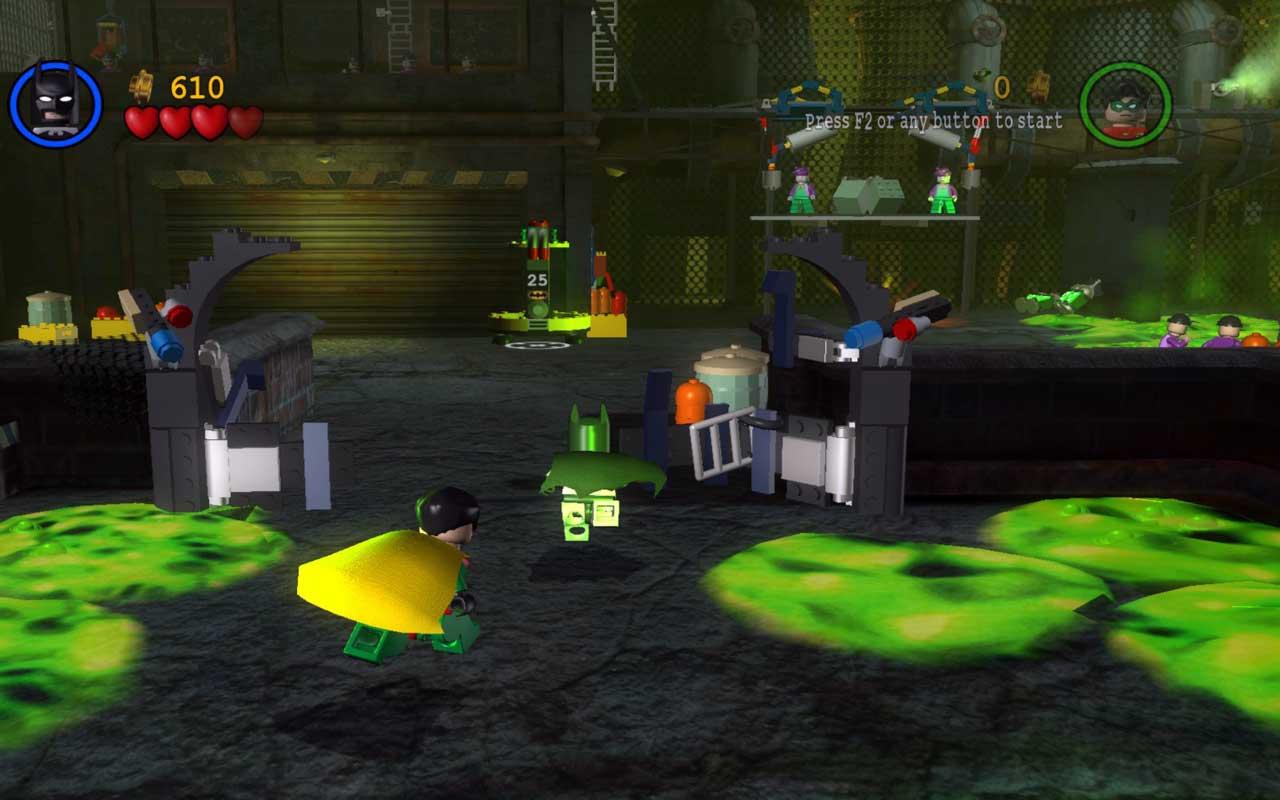 Лего бэтмен 1 скачать на компьютер