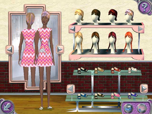 Видео обзор игры барби показ мод