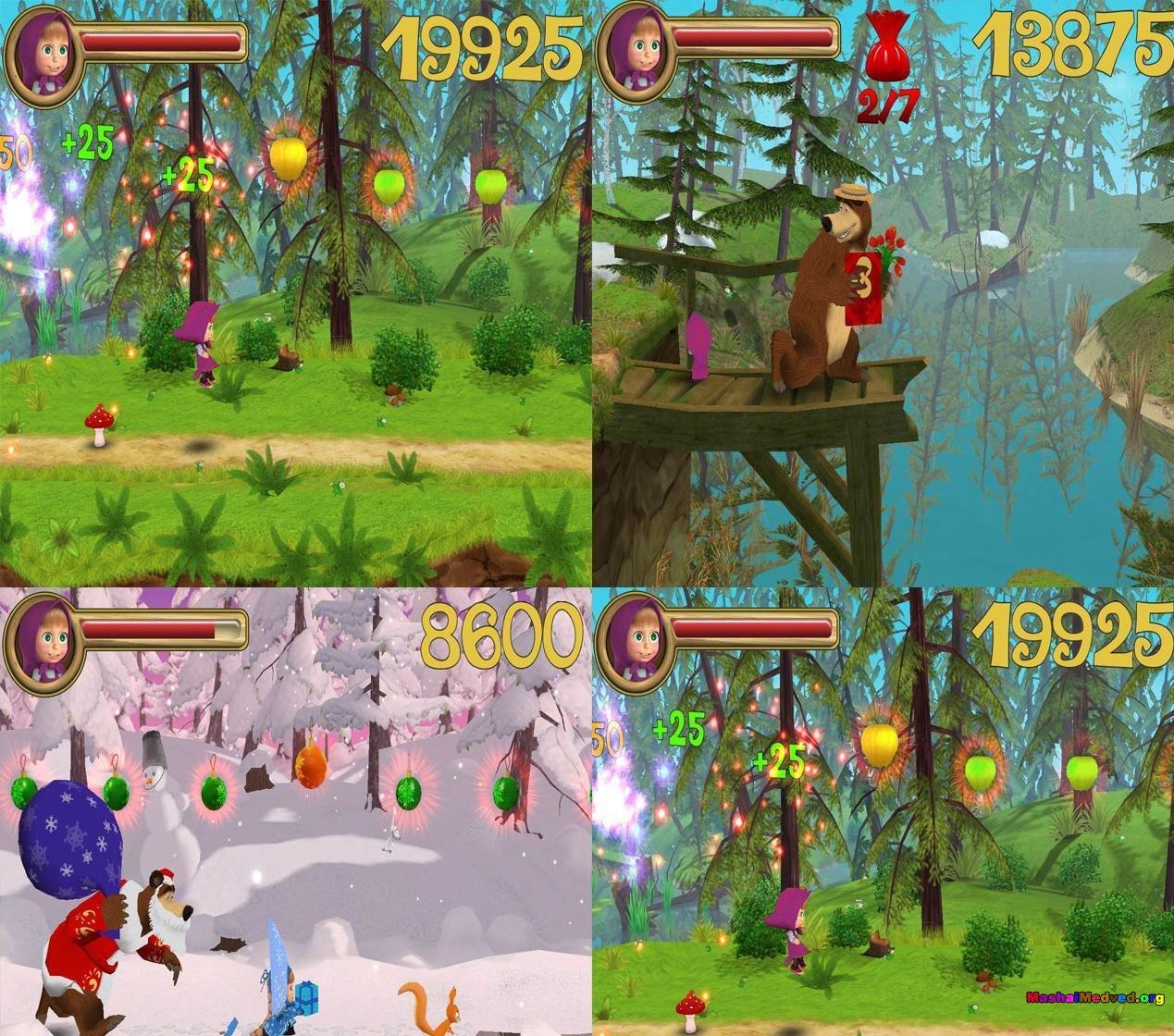 Игры маша и медведь догонялки скачать бесплатно.
